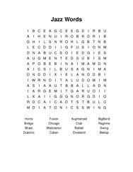 Jazz Words